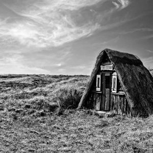 Fischerhütte in Bjerregård