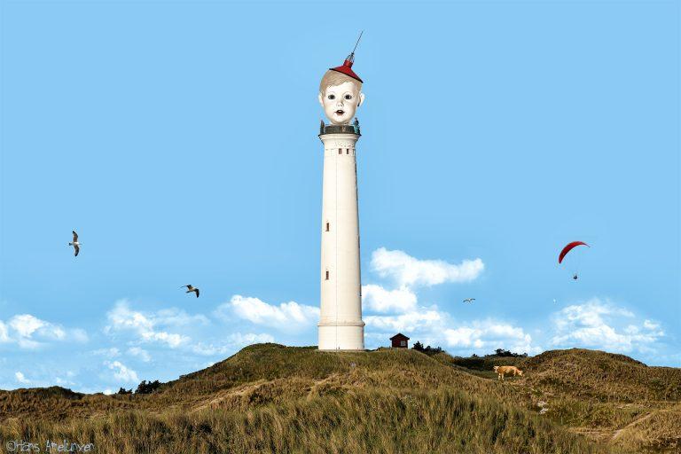 Leuchtturm Lyngvig Fyr bei Hvide Sande