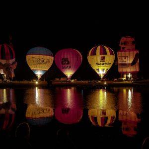 Nightglow beim Twente Ballooning Festival in Oldenzaal - Het Hulsbeek 2019