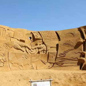 Sandskulpturen in Søndervig 2012