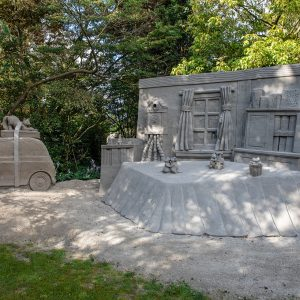 Sandskulpturen Kasteel Warmelo 2020