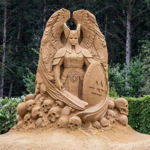 Sandskulpturen in Blokhus 2019