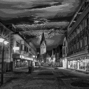 Bachstrasse in Geseke