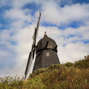 Borglum Kloster Windmühle