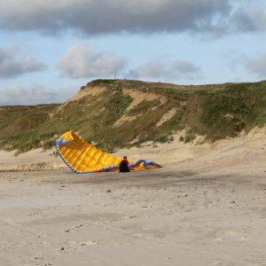 gleitschirm_løkken_strand