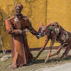 Josef mit Esel