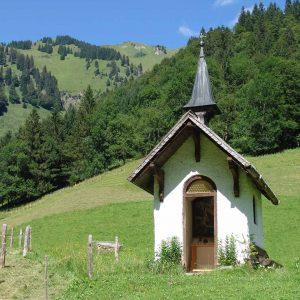 Weidekapelle bei der Alpe Oberau