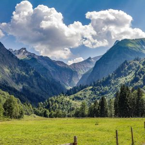 Alpe Oberau im Trettachtal