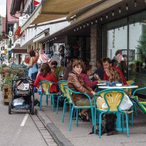 Eiscafe in Oberstdorf