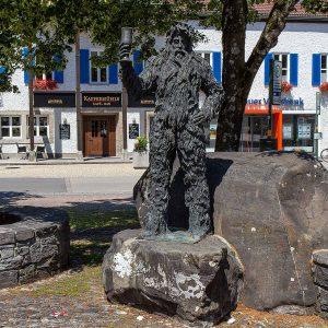 wildes Männle in Oberstdorf