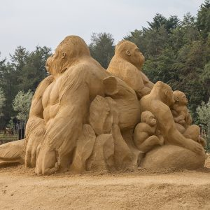 Sandskulpturen in Blokhus 2016