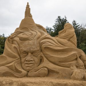 Sandskulpturen in Blokhus 2017