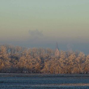 winterlandschaft in Geseke