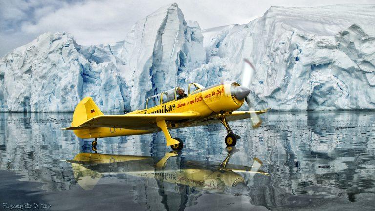 Yak 32 td in der Antarctis
